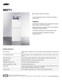 Brochure MRF71