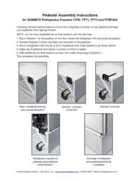 PedestalRefrigeratorInstructions