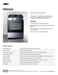 Brochure PRO24G