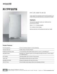 Brochure R17FFSSTB