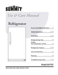 Manual R17FFSSTB