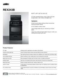 Brochure REX243B