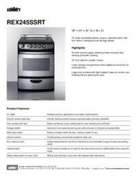 Brochure REX245SSRT