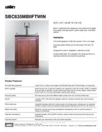 Brochure SBC635MBIIFTWIN