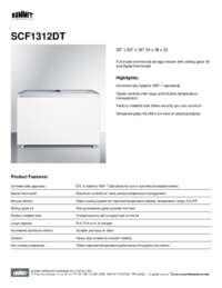 Brochure SCF1312DT