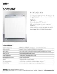 Brochure SCF632DT