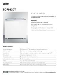 Brochure SCF942DT