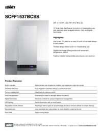 Brochure SCFF1537BCSS