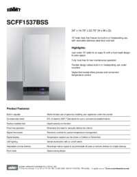 Brochure SCFF1537BSS