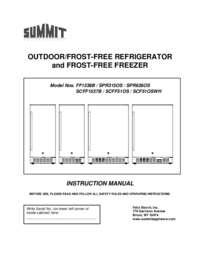 Manual SCFF1537BSS