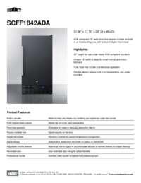 Brochure SCFF1842ADA