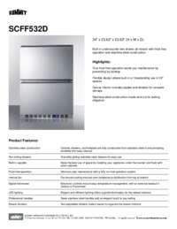 Brochure SCFF532D