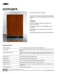 Brochure SCFF53BFR