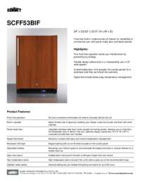 Brochure SCFF53BIF