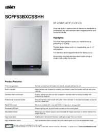 Brochure SCFF53BXCSSHH