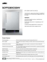 Brochure SCFF53BXCSSHV
