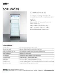Brochure SCR1150CSS