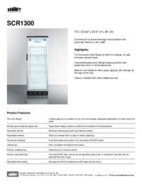 Brochure SCR1300