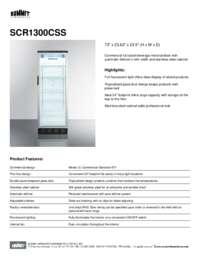 Brochure SCR1300CSS