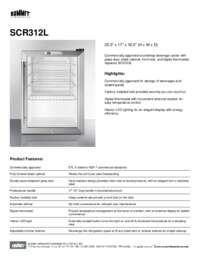 Brochure SCR312L