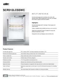 Brochure SCR312LCSSWC