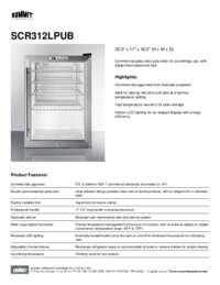 Brochure SCR312LPUB