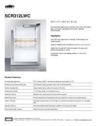 Brochure SCR312LWC