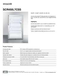 Brochure SCR450L7CSS