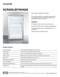 Brochure SCR450LBI7HHADA