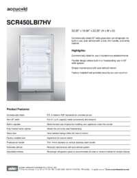 Brochure SCR450LBI7HV