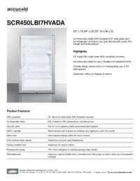 Brochure SCR450LBI7HVADA