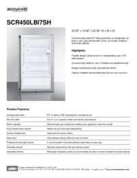 Brochure SCR450LBI7SH