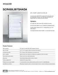 Brochure SCR450LBI7SHADA