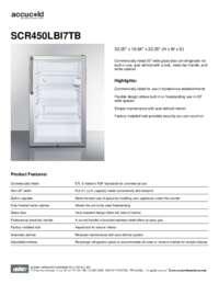 Brochure SCR450LBI7TB