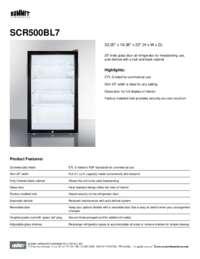 Brochure SCR500BL7