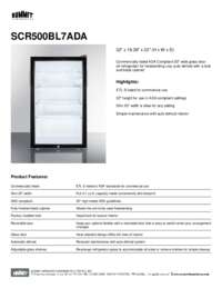 Brochure SCR500BL7ADA