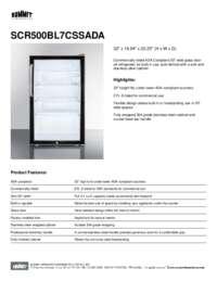 Brochure SCR500BL7CSSADA