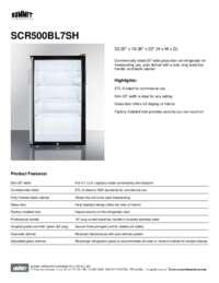 Brochure SCR500BL7SH