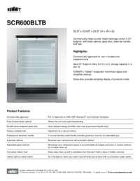 Brochure SCR600BLTB