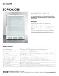 Brochure SCR600LCSS