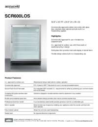Brochure SCR600LOS