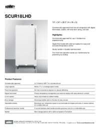Brochure SCUR18LHD