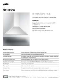 Brochure SEH1536