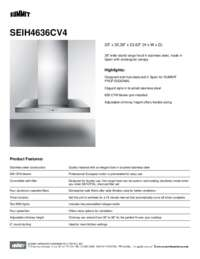 Brochure SEIH4636CV4