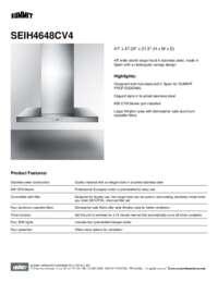 Brochure SEIH4648CV4