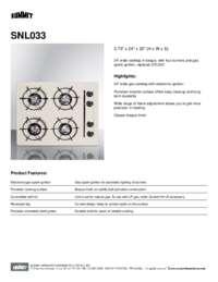 Brochure SNL033