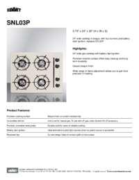 Brochure SNL03P