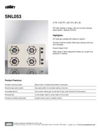 Brochure SNL053