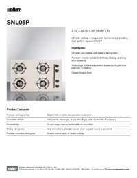 Brochure SNL05P
