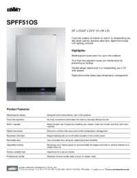 Brochure SPFF51OS